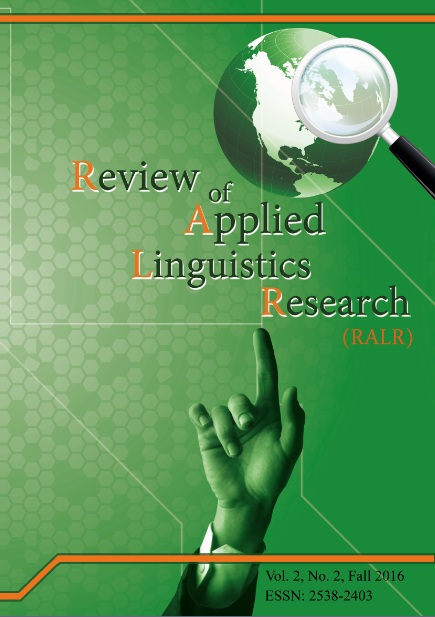 Review of Applied Linguistics Research